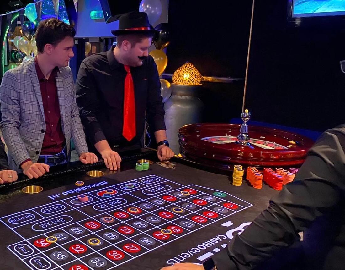 Roulette tafel huren