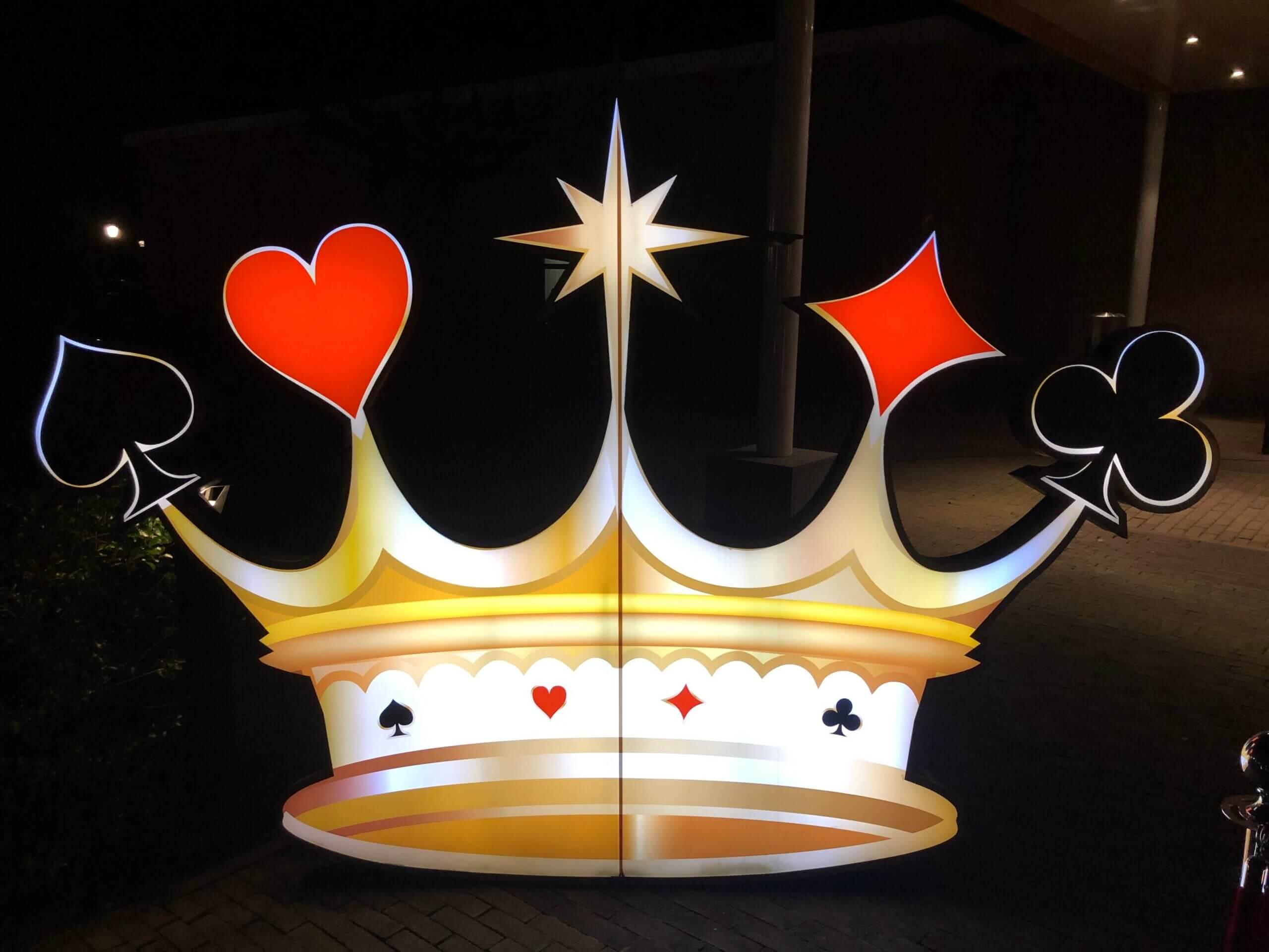 Verlichte Casino Kroon