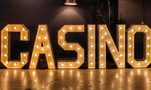 Casino Licht Letters