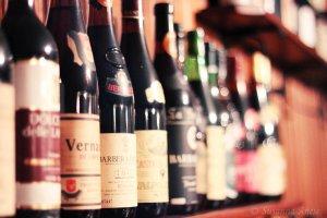Wijn arrangement